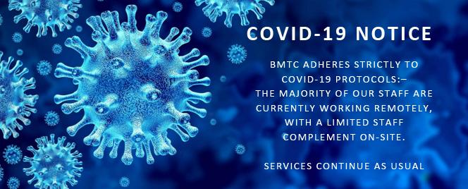 bmtc corona virus notice to clients